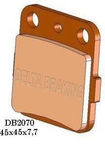 BRZDOVÉ DESTIČKY DB2070 QD-D
