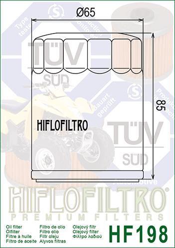 OLEJOVÝ FILTR HF198