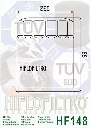 OLEJOVÝ FILTR HF148