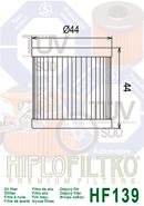 OLEJOVÝ FILTR HF139
