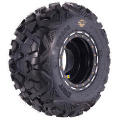 26X11-12 12PLY REAR BLACKWALL TUBELESS RUN-FLAT UTILITY