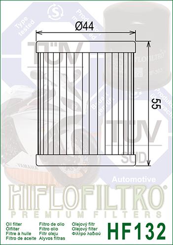 OLEJOVÝ FILTR  HF132