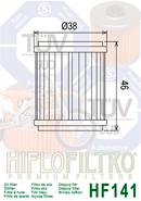OLEJOVÝ FILTR HF141