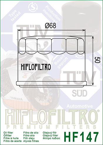 OLEJOVÝ FILTR HF147